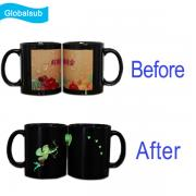 11 Oz Ceramic Luminous Sublimation Mug 330ml with Picture in Picture