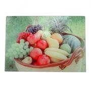 Glass chopping board