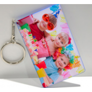 Sublimation polymer keychain(credit card)