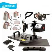 8-in-1 Heat Press Transfer Machine For Mug Shirts Cap Plate <img src=templates/utf-8/no1/images/new.gif border=0>