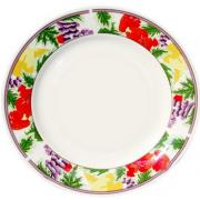 8'' flower rim plate