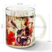 11oz Custom printed Glass Mug (Transparent) <img src=templates/utf-8/no1/images/new.gif border=0>
