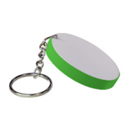 Sublimation polymer keychain(60mm round)