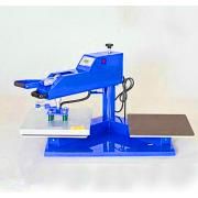 Air double location heat pressmachine