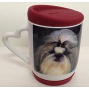 11oz Sublimation Heart handle mug with silicon lid <img src=templates/utf-8/no1/images/new.gif border=0>