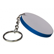 Sublimation Ploymer Keychain(47mm round)