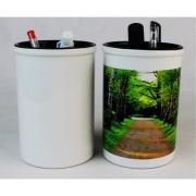 Sublimation Ceramic brush pot