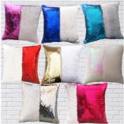 Square Magic Reversible Sequin Pillow Cover <img src=templates/utf-8/no1/images/new.gif border=0>