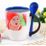 11oz Sublimation Color Changing Spoon Mug