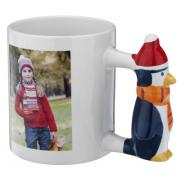 11oz custom printed Peguim Handle Sublimation Mug <img src=templates/utf-8/no1/images/new.gif border=0>