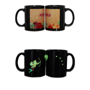 Picture in Picture Luminous Sublimation Ceramic Mug in Wholesale Price <img src=templates/utf-8/no1/images/new.gif border=0>