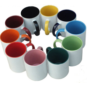 Color inner & handle mug